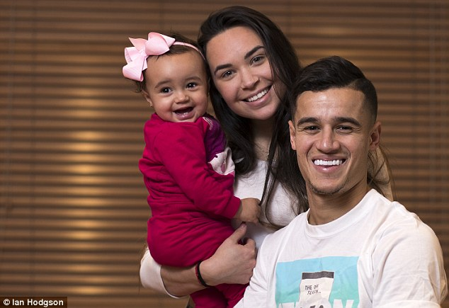 Image result for Coutinho his wife