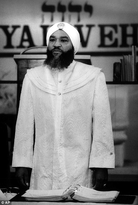 Yahweh, who always wore a jeweled white turban, once told a group of Miami business leaders that he was the 'world's greatest attraction'