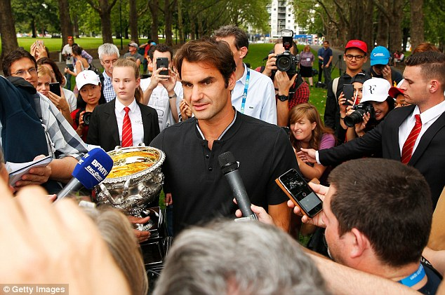 Image result for Successful, stylish, goofy -- why the world loves Roger Federer
