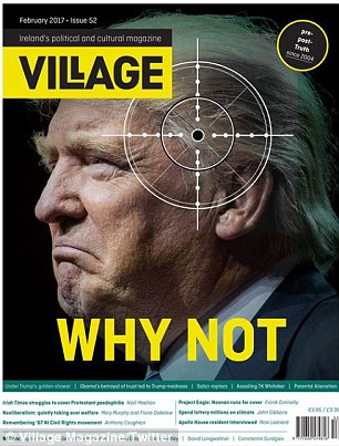 Outrage as Der Spiegel publishes shock Trump cover | Daily ...