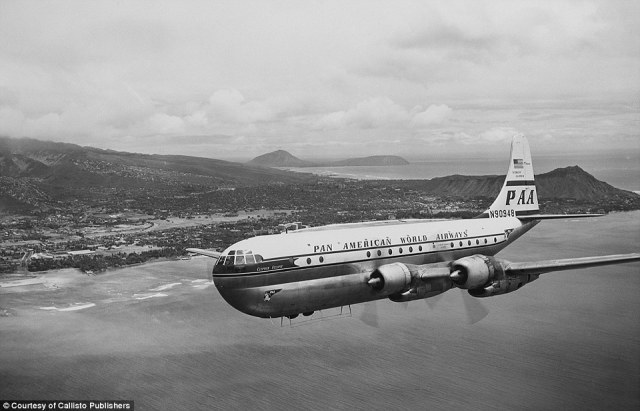From its inception in 1927, Pan American Airways single-handedly revolutionized air travel and pioneered a new era of commercial flight. Pictured, one of its Boeing 377s photographed in 1949