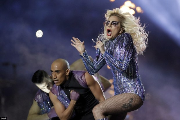 Born this way: Gaga's set list included her biggest hits including Poker Face, Telephone, Million Reasons and Bad Romance