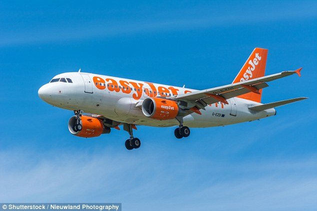 An Easyjet pilot was overheard telling flight handlers of a close near-miss with a drone flying within hundreds of yards of his Airbus A319 (stock image)