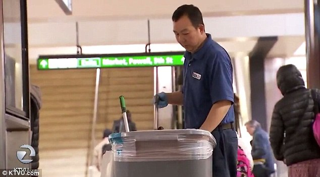 San Francisco transit janitor, Liang Zhao Zhang, who earned more than $250,000 in one year, was caught hiding for several hours in a closet not working. He made $57,945 in 2015 for cleaning San Francisco's Powell Street station and an additional $160,000 in overtime