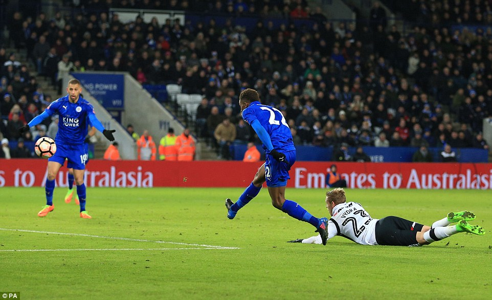 Image result for demarai gray derby v leicester