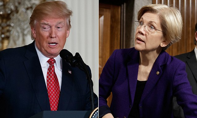 Donald Trump 'calls Elizabeth Warren Pocahontas again'