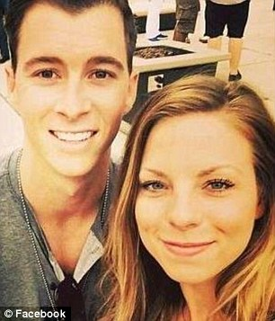 Bride-to-be: Casey was due to marry fianceBrandon Seniff this year
