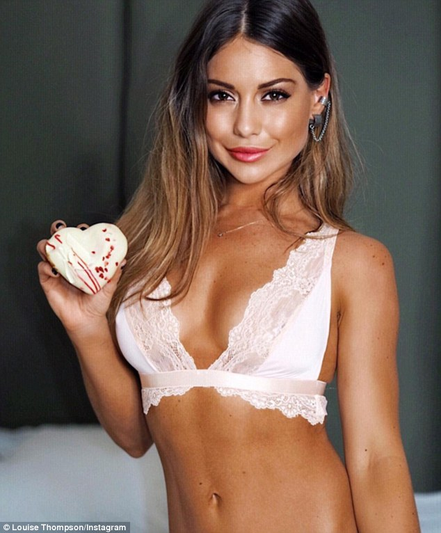 Made In Chelseas Louise Thompson Shows Off Physique