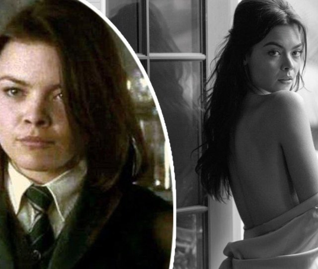 Harry Potter Actress Scarlett Byrne Poses For Playboy Daily Mail