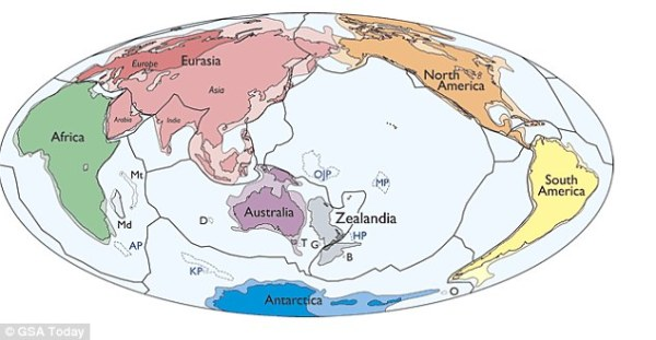 Zealandia named as new continent, scientists reveal ...