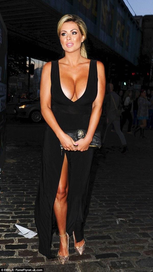 Nicola McLean steps put after nude modelling debate ...