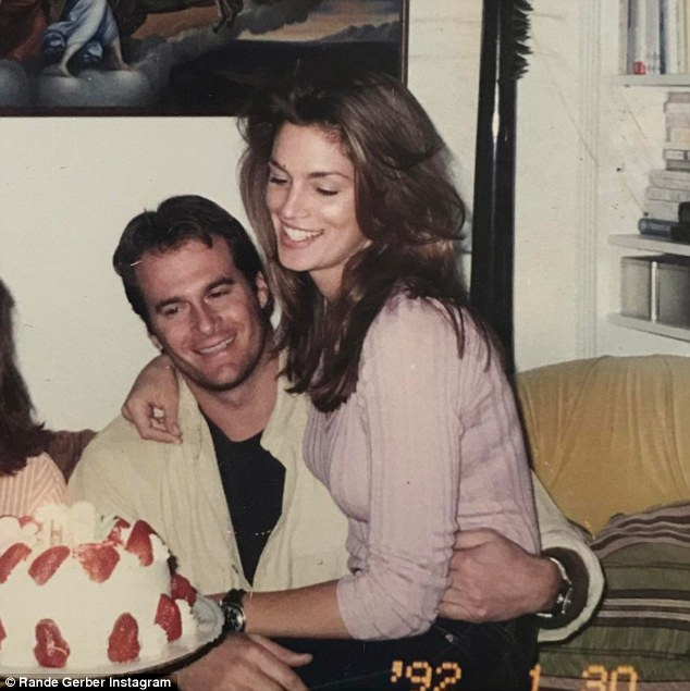Rande Gerber Wishes Wife Cindy Crawford A Happy Birthday Daily Mail Online