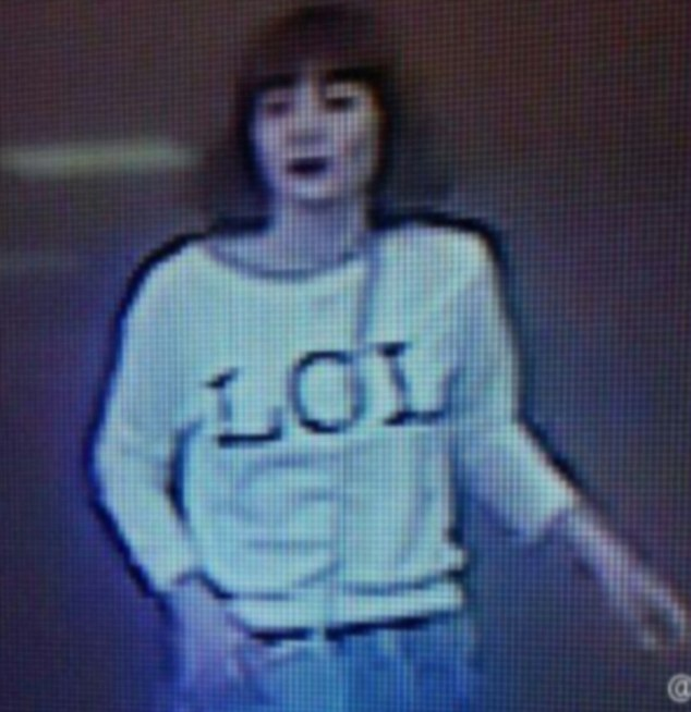 Just days before the death of Jong-nam a photo was posted on her profile showing her in a shirt with the acronym 'LOL' - similar to the one scene in CCTV images of her at Kuala Lumpur after the North Korean was poisoned