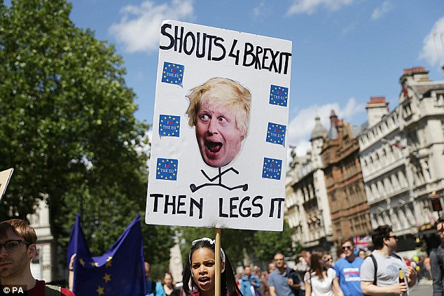 'The arrogance of the notion that the opinions of 1,000 lawyers — whose fees are an affront to civilised society — could outweigh those of 17.4 million voters summed up the Remainers' 'some are more equal than others' outlook'