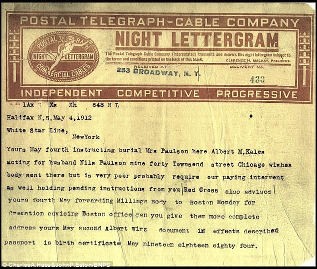 Los telegramas también proporcionan una visión fascinante en décadas cómo se ha coordinado un esfuerzo logístico masivo antes de la subida del Internet