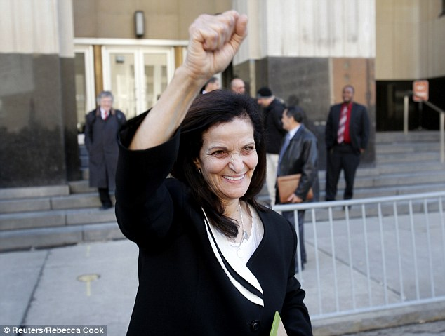 Rasmea Odeh, convicted Palestinian terrorist who killed 2 Israelis in a supermarket bombing