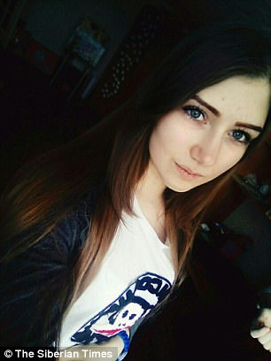 Yulia Konstantinova, 15, fell to her death from the roof of an apartment block in Ust-Ilimsk