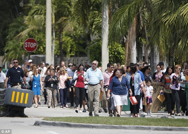 And people were evacuated because of a bomb threat at the David Posnack Jewish Community Center and David Posnack Jewish Day School in Davie, Florida
