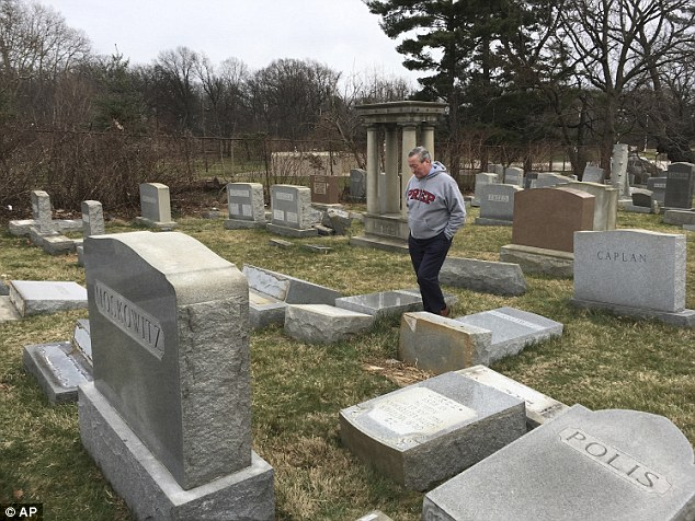 The bomb threats were the fifth wave of such threats this year that have stoked fears of a resurgence of anti-Semitism. Jewish groups, U.S. President Donald Trump and Israeli officials have all condemned the surge in disruptive intimidation and vandalism of Jewish cemeteries
