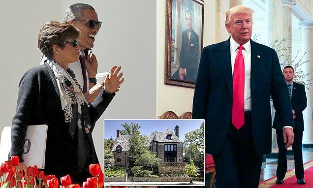 Obama confidante Valerie Jarrett has moved into his Kaloroma home