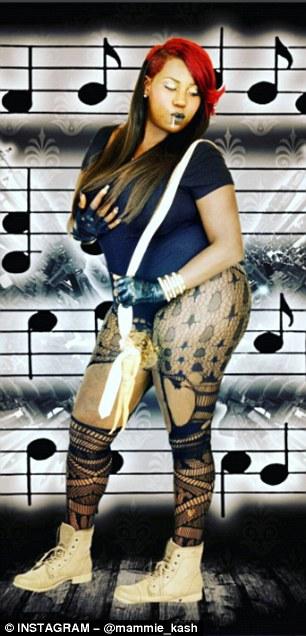 Rapper: Coleman promoters herself as rapper 'Mamme Kash'