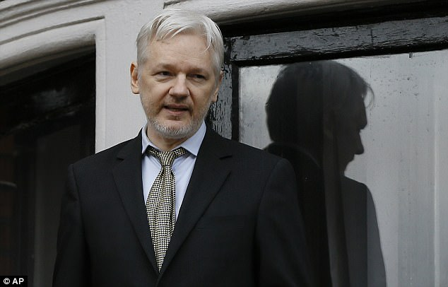 WikiLeaks, founded by Julian Assange (pictured), claims its Vault 7 files come from the CIA's Center for Cyber Intelligence