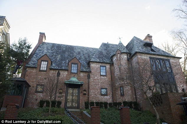 Now the former president has set up a nerve center for a Trump insurgency from his DC home, pictured here