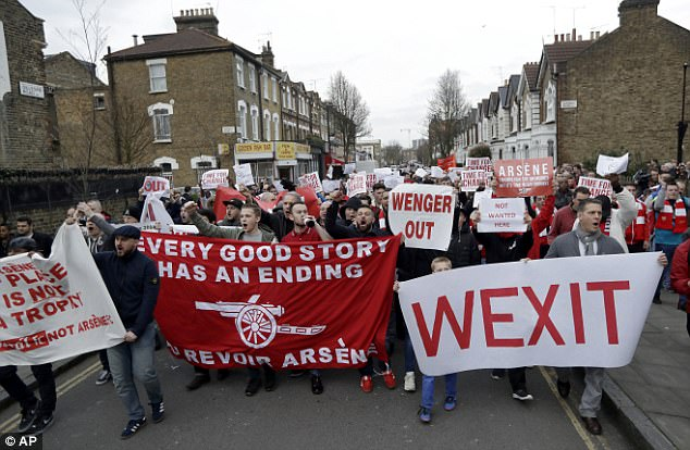 Image result for arsenal protest