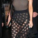 Kylie Jenner's Fishnet Style In LA