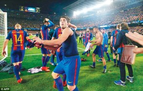 Image result for Barcelona-PSG replay petition tops 200,000 signatures