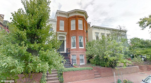 Image result for photo of steve bannon's washington dc townhouse