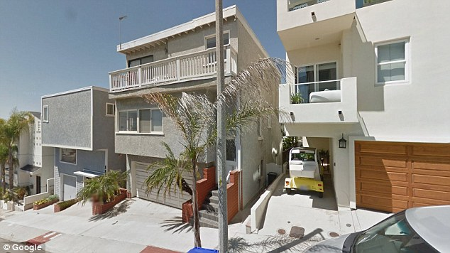 Another property on 36th Street in Los Angeles which Bannon also listed as a mailing address is seen above