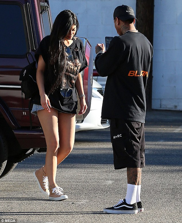 Kylie Jenner et Tyga toujours ensemble, ils démentent les ...