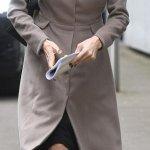 A Very Gleeful Angelina Jolie In London