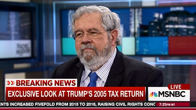 Pulitzer-Prize-winning journalist David Cay Johnston (pictured) said that he found the documents in his mail box, but did not know who supplied them