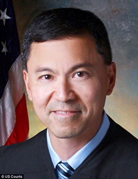 Shot down:US District Jude Derrick K. Watson has ruled that Trump's latest ban is unconstitutional