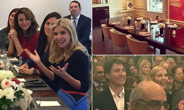 Ivanka Trump back in DC to meet Latina business owners