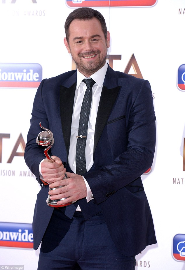 Temporary goodbye:It was announced last month that the actor, 39, was to take a short break from the BBC soap amid claims he was suffering from 'exhaustion and stress'