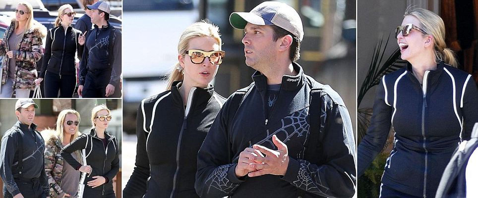 Ivanka and Donald Jr hit Aspen for a family vacation