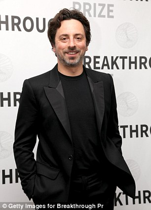 Sergey Brin attends the 2017 Breakthrough Prize at NASA Ames Research Center on December 4, 2016 in Mountain View, California