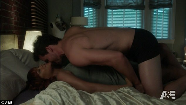 Work work, work: In the first of her two-arc episodes, Marion is introduced in the sexy scene in bed with her boyfriend, Sam Loomis (Nichols)