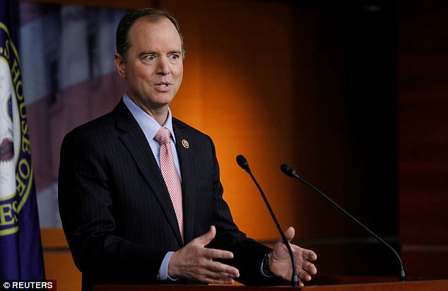 Rep. Adam Schiff (D-Calif.) said on Wednesday that there is 'more than circumstantial' evidence of links between the Trump campaign and Russia - a statement backed up by anonymous US officials who told CNN that new information suggests possible collusion