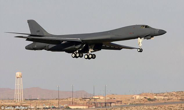 Chinese military officials have accused a US B-1B Lancer bomber of flying too close to the country and operating in its airspace during a mission off South Korea