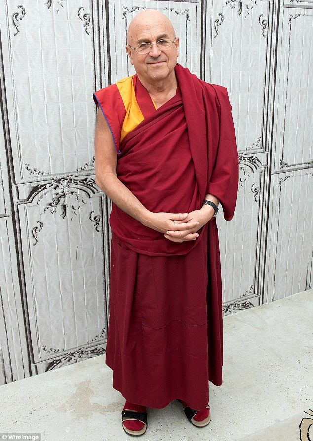 Enlightened: Matthieu Ricard insists the psychological benefits of sparing animals matches the health pros and should be adopted by all
