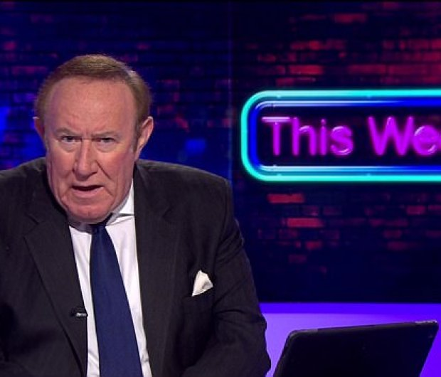 Andrew Neil delivered his impassioned response at the beginning of the programme last night