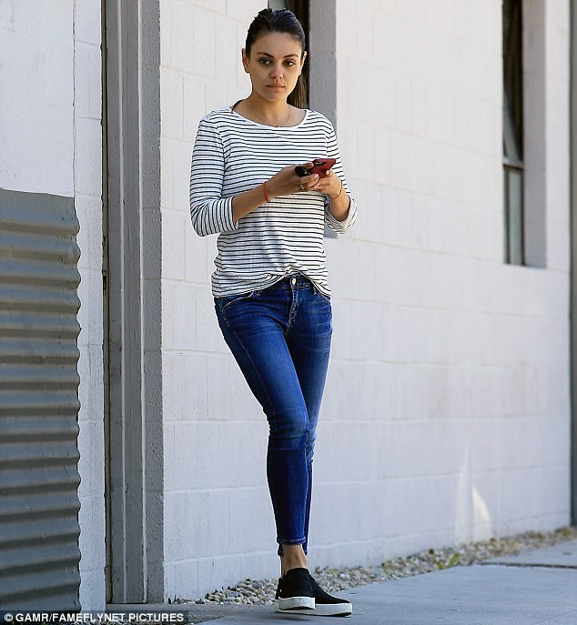 Mila Kunis Shows Off Incredible Form In Beverly Hills
