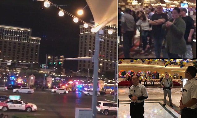 Las Vegas Bellagio in lockdown after reports of a gunman