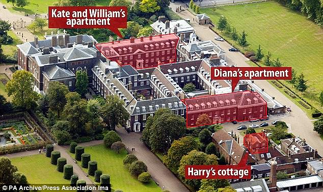 Image result for kensington palace where meghan and prince harry will stay