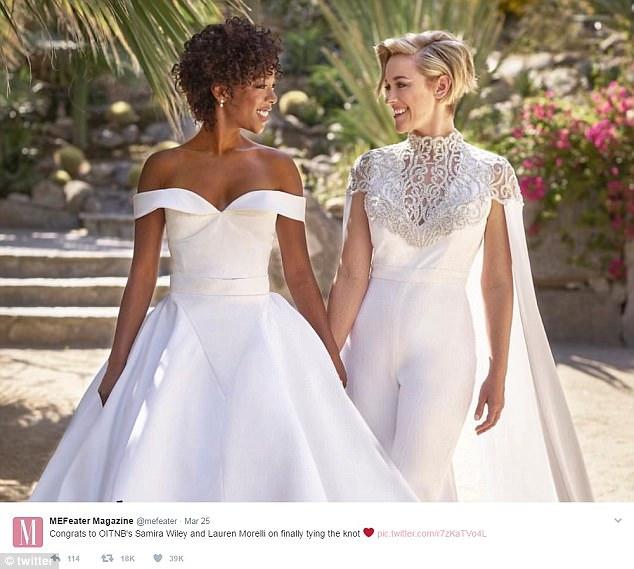 Orange Is The New Black Stars Wedding Sends Twitter Wild