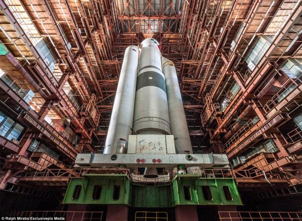 Russian rocket has been left abandoned for 20 years ...